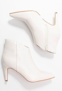 Anna Field - High heeled ankle boots - offwhite - 3