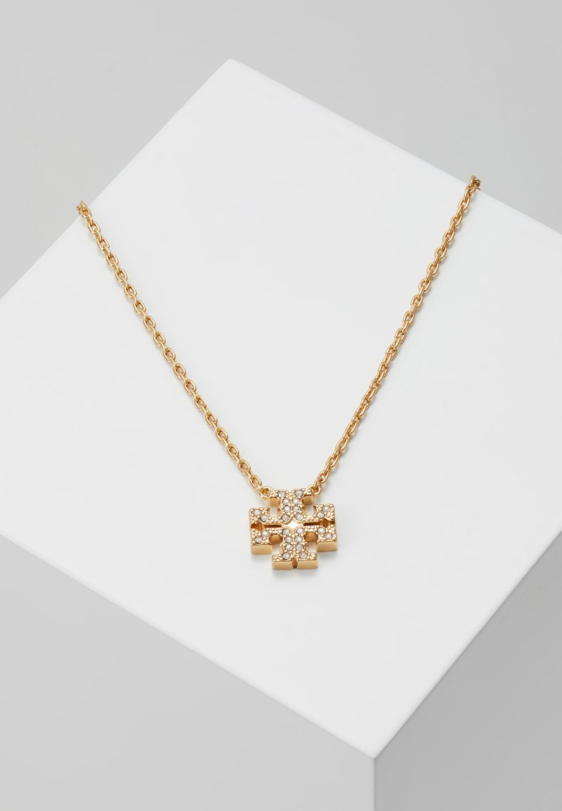 Tory Burch - KIRA PAVE DELICATE NECKLACE - Necklace - gold-coloured