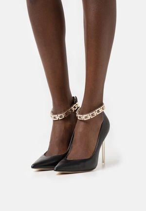 STEFIE - Zapatos altos - black