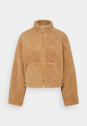 Winter jacket - flax/cactus flower