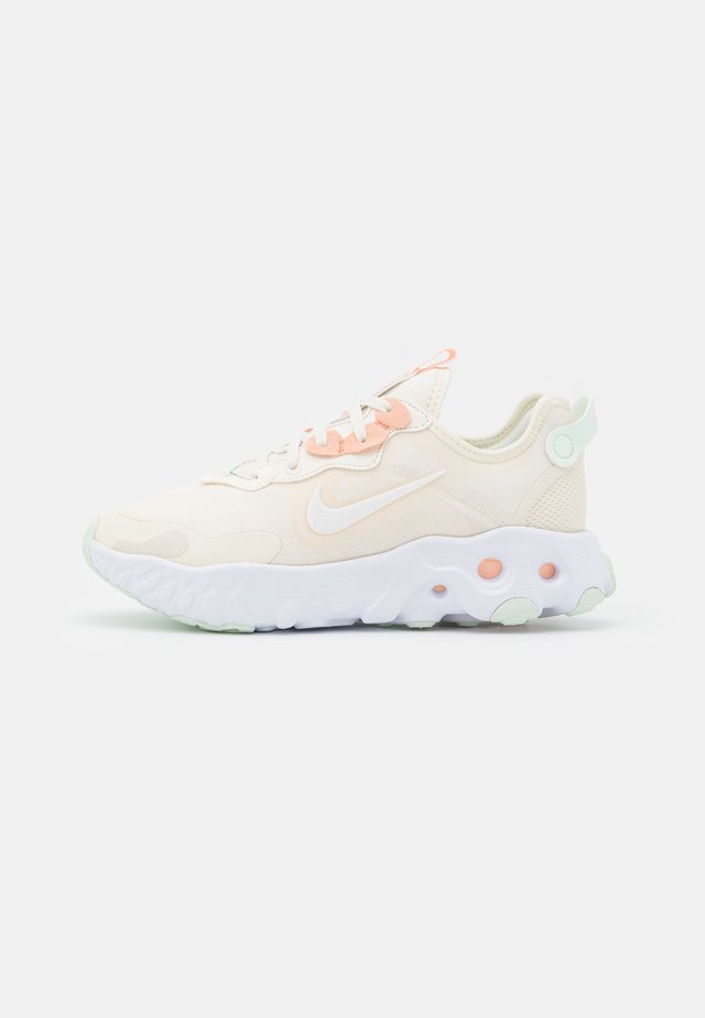 REACT ART3MIS - Sneakers basse - pale ivory/white/crimson tint/barely green