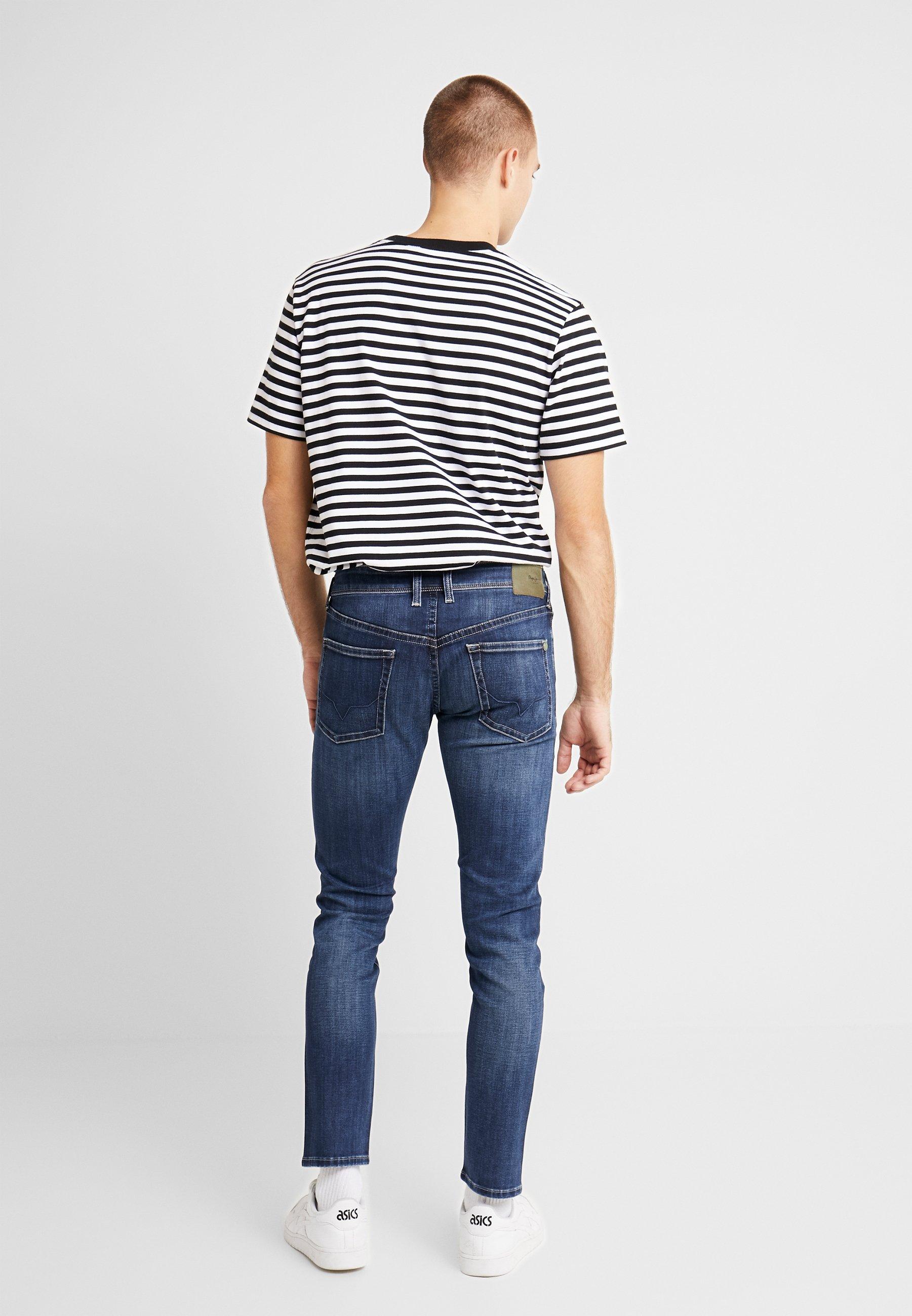 Pepe Jeans HATCH - Jean slim - dark used wiser wash
