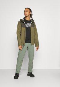 The North Face - APEX FLEX FUTURELIGHT JACKET - Hardshell jacket - olive/taupe - 1