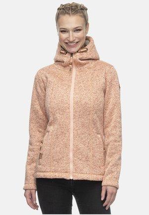Fleece jacket - peach