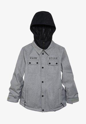 NEOLITHIC JACKET - Snowboard jacket - heather grey