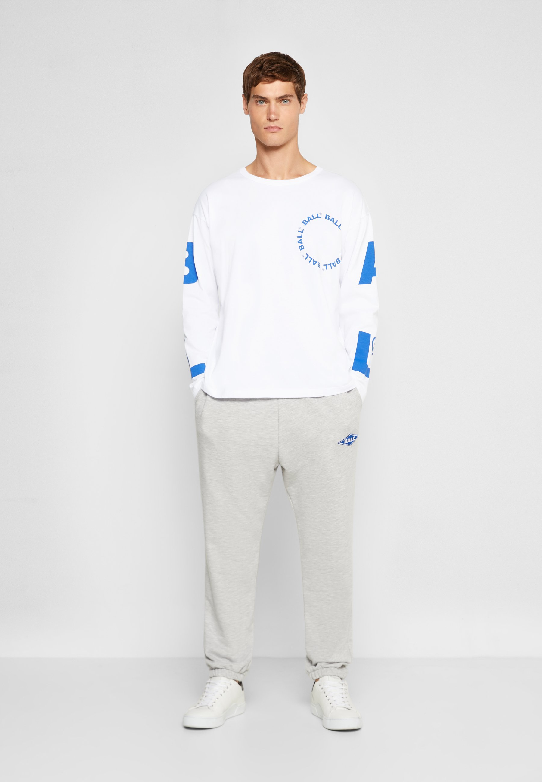 Herrer BALL LS - Langærmede T-shirts