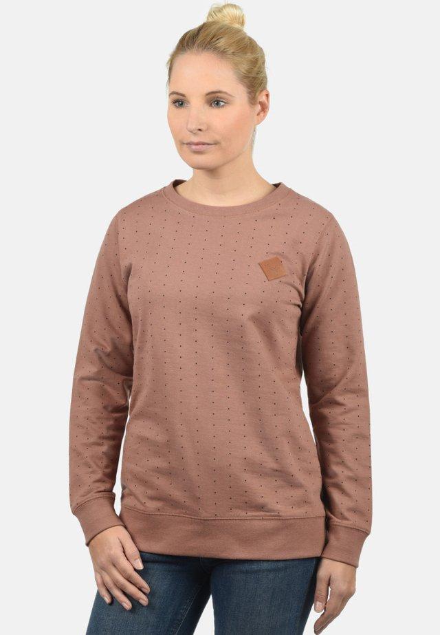SWEATSHIRT POLLY - Sweatshirt - clove