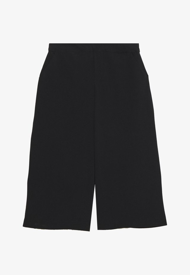 CULOTTE PANTS PETITE - Shorts - black
