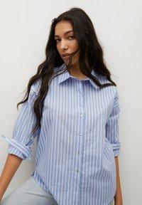 Mango - VERA-I - Button-down blouse - bleu - 2