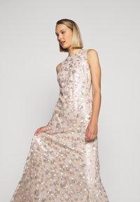 Lauren Ralph Lauren - ASTOR LONG GOWN - Vestido de fiesta - belle rose/silver - 4