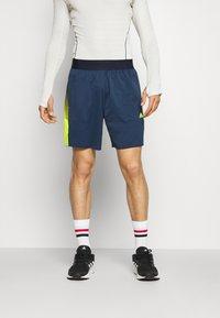 adidas Performance - Sports shorts - dark blue - 0