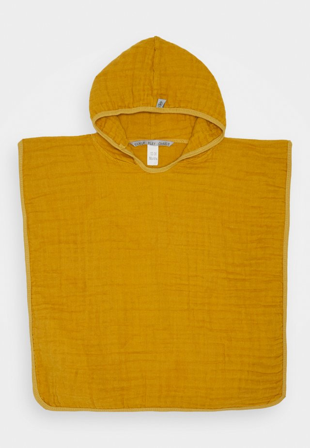 PONCHO UNISEX - Badmantel - yellow