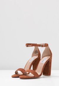 Steve Madden - CARRSON - High heeled sandals - chestnut - 4