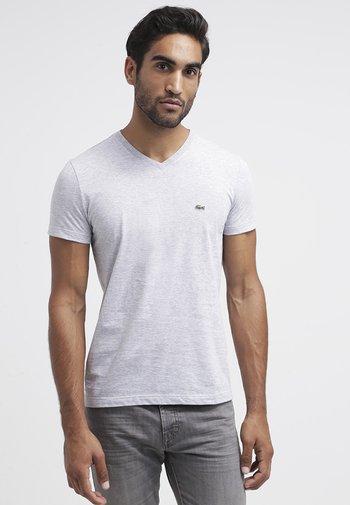 T-shirt - bas - argent chine