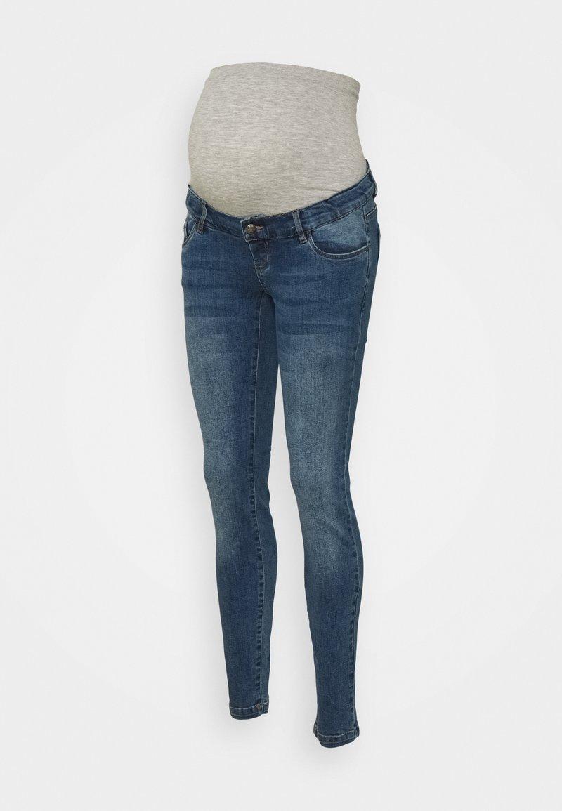 MAMALICIOUS - MLYORK - Jeans slim fit - medium blue denim