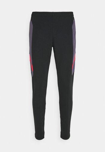 DRY ACADEMY PANT  - Træningsbukser - black/dark raisin/siren red