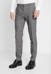 Shelby & Sons - KIRKHAM SUIT DOUBLE BREASTED  - Suit - grey - 4