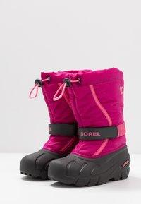 Sorel - YOUTH FLURRY - Snowboot/Winterstiefel - deep blush/tropic pink - 3