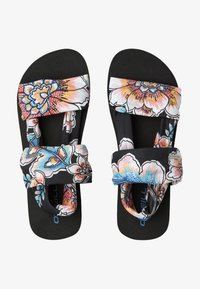 O'Neill - Sandals - black with red - 0