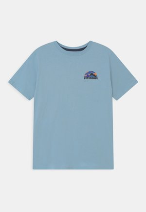 BOYS GRAPHIC - Print T-shirt - sky blue