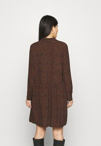 Esprit - EASY TUNIC DRESS - Day dress - brown - 2