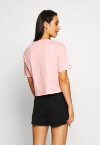 The North Face - CENTRAL LOGO CROP TEE - Print T-shirt - ballet pink/vintage white - 2