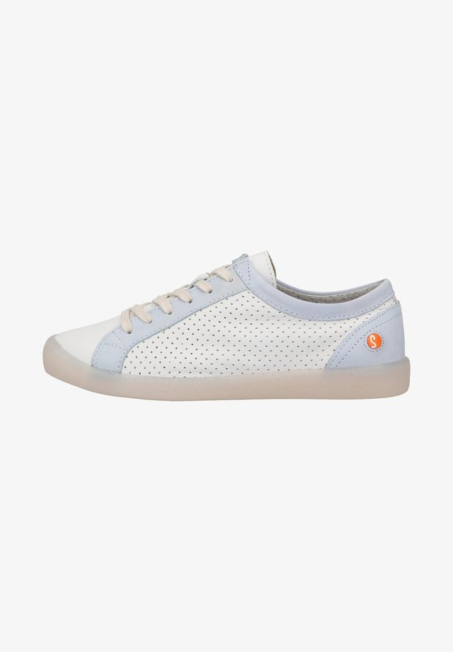Sneakers laag - white baby blue
