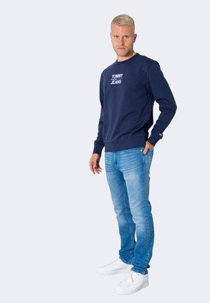 ESSENTIAL CREW - Long sleeved top - blue