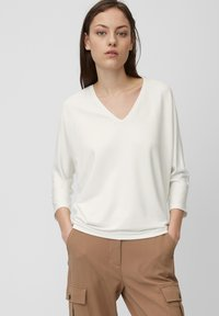 Marc O'Polo - Long sleeved top - white - 0