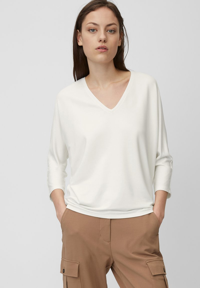 Marc O'Polo - Long sleeved top - white