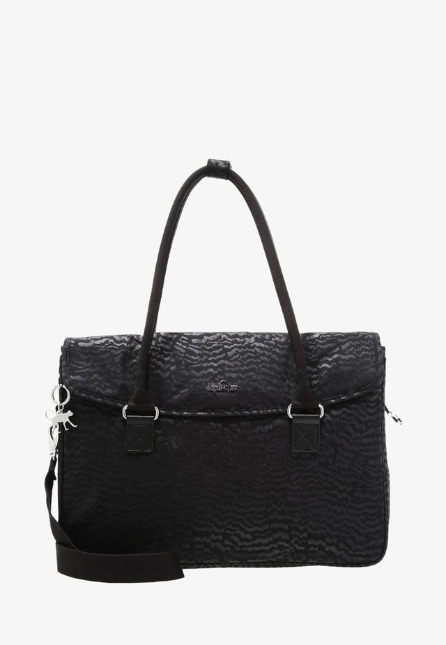 SUPERWORK S - Briefcase - black garden