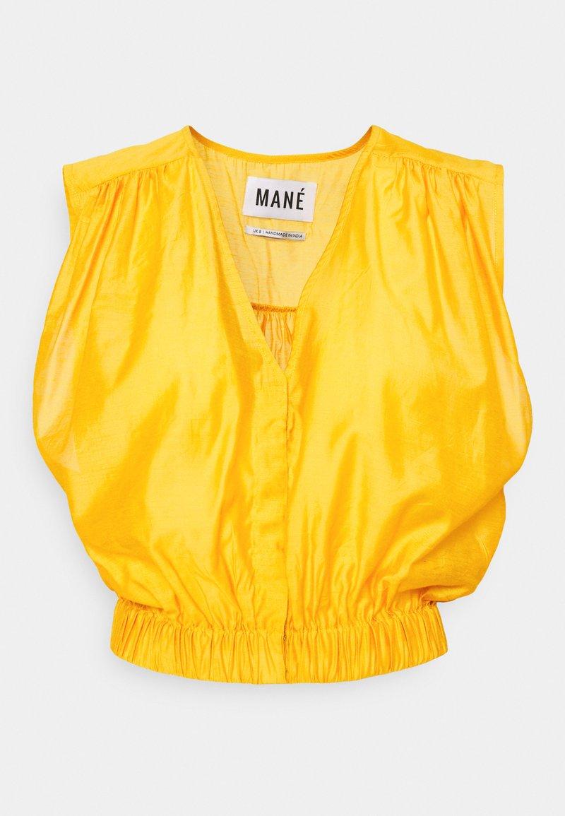 MANÉ - SARA TOP - Blouse - mustard