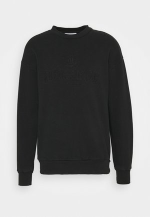 ARTWORK CREW - Sweatshirt - faded black