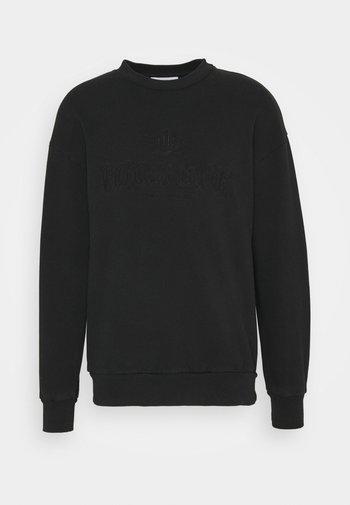 ARTWORK CREW - Sweatshirt - faded black