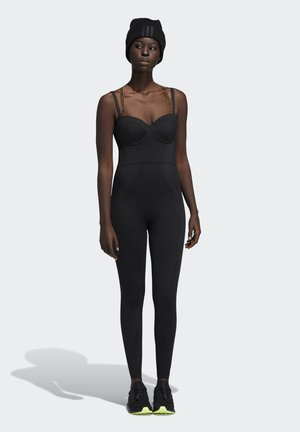 IVY PARK KNIT CATSUIT - Jumpsuit - black