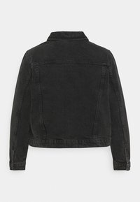 Vero Moda Curve - VMMIKKY SHORT JACKET - Denim jacket - black - 7