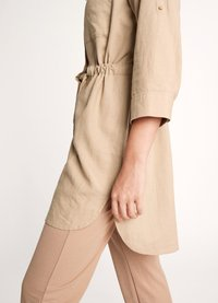 comma casual identity - Button-down blouse - sand - 3