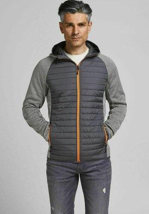 Winterjas - grey melange