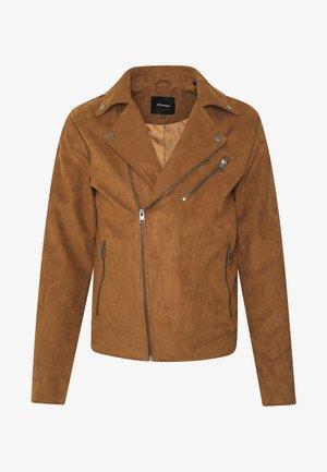 JEROCKY BIKER JACKET NOOS - Summer jacket - cognac