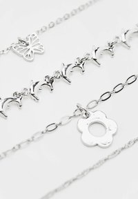PULL&BEAR - 4 PACK - Necklace - silvercoloured - 3