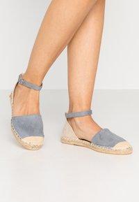 New Look Wide Fit - WIDE FIT MAJESTY - Espadrilky - light blue - 0