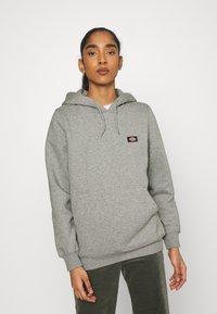 Dickies - OAKPORT HOODIE - Sweatshirt - grey melange - 0