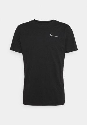 ALDER TEE - Basic T-shirt - black jet