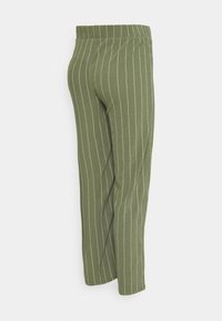 Supermom - STRIPE - Trousers - dusty olive - 1