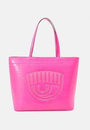 RANGE  FRAME EYE - Tote bag - fluorescent pink