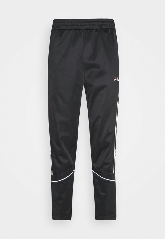 TED TRACK PANTS - Pantalon de survêtement - black
