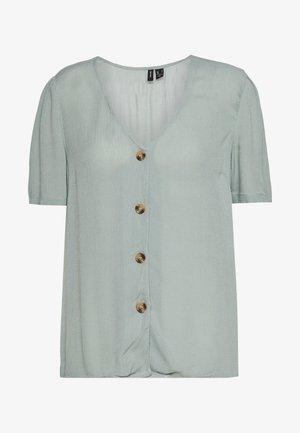 VMATHEN VNECK - Button-down blouse - green milieu