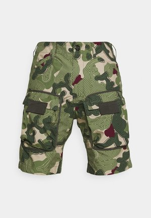 3D ARTWORK - Shorts - olive