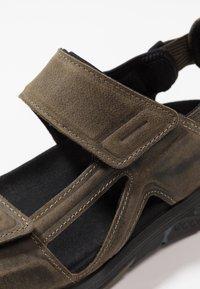 ECCO - X-TRINSIC - Walking sandals - tarmac - 5