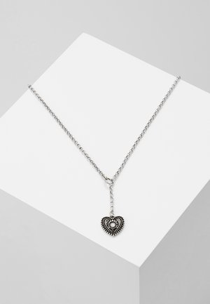 TRACHTENHERZ - Ketting - silver-coloured